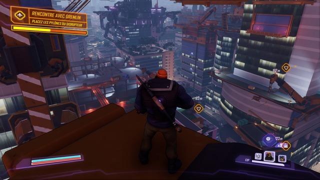 Agents of Mayhem est-il à la hauteur ? En tout cas, il propose de belles hauteurs.