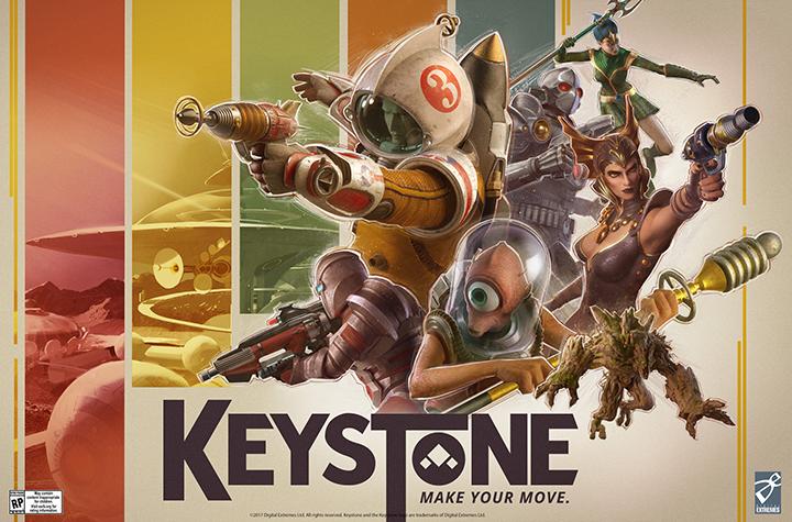 Par les développeurs de Warframe — Keystone