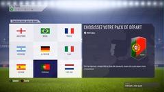 Choisissez un pack de votre pays favori... Même si looter un Ronaldo sur un pack Portugal peut être assez sympa.