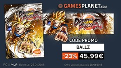 Bon plan : -23% sur le prix de vente de Dragon Ball FighterZ