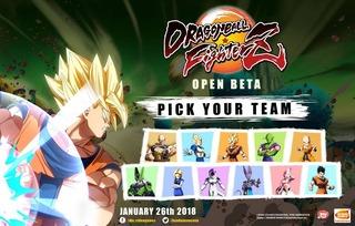Dragon Ball FighterZ précise le contenu de sa bêta ouverte