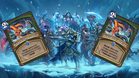 HearthStone: Knights of the Frozen Throne - Avant-première JOL : analyse de la carte Piège frappe-venin de Hearthstone