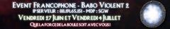 Deux rencontres online francophones