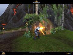 Images de la planète Menfa et du Praxis Commando