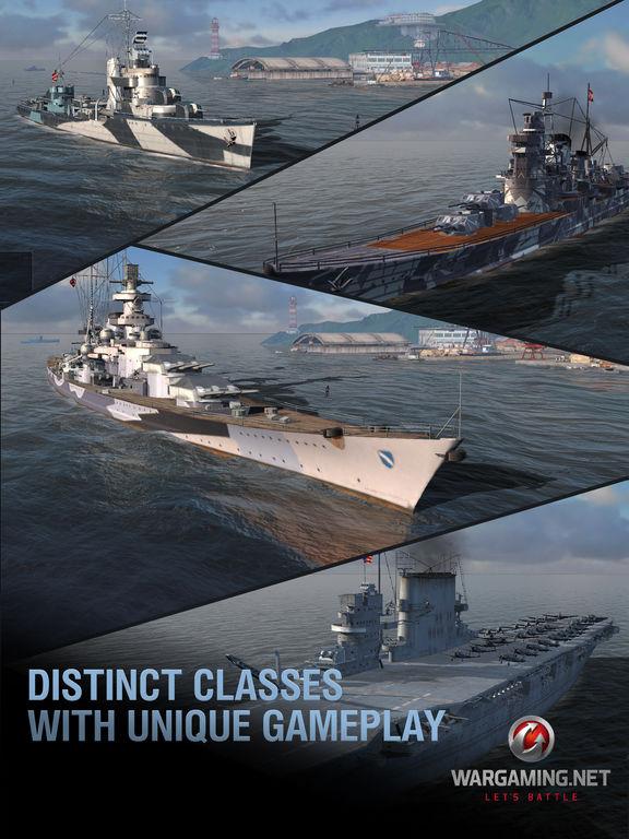 Image promotionnelle de World of Warships Blitz