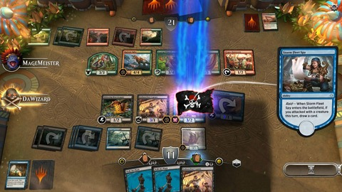 Magic The Gathering Arena - En novembre, des tests de charge et une bêta pour Magic: The Gathering Arena