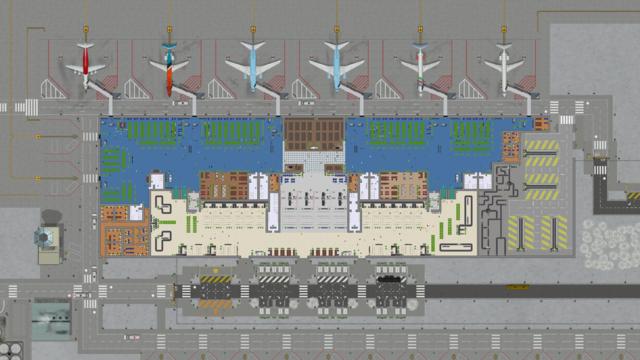 Un très gros aéroport