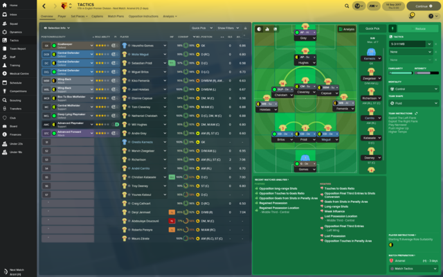 Images de Football Manager 2018