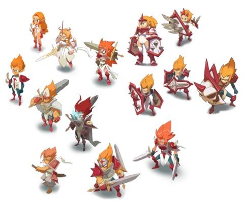 DOFUS Cube - DOFUS Cube : Animations de personnages