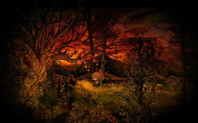 Yomawari MidnightShadows Announcement KeyArt YomawariMidnightShadows background