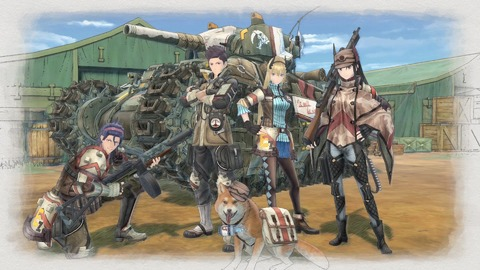Valkyria Chronicles 4 - Valkyria Chronicles 4 sur Switch en 2018