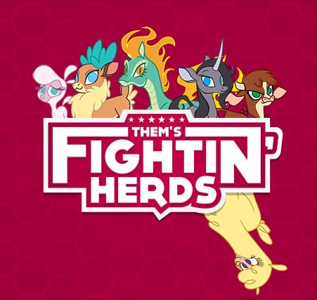 Them's Fightin' Herds - Them's Fightin' Herds dans les starting blocks pour une sortie le 22 Février