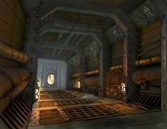 A l'intérieur du Canonnier Nain