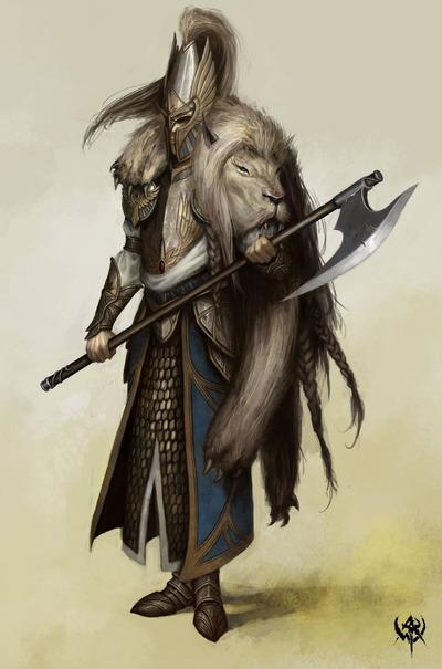 Le Lion Blanc, la dernière classe Haute-Elfe?