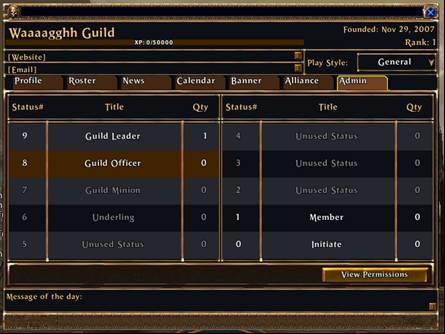 Guild Ranks