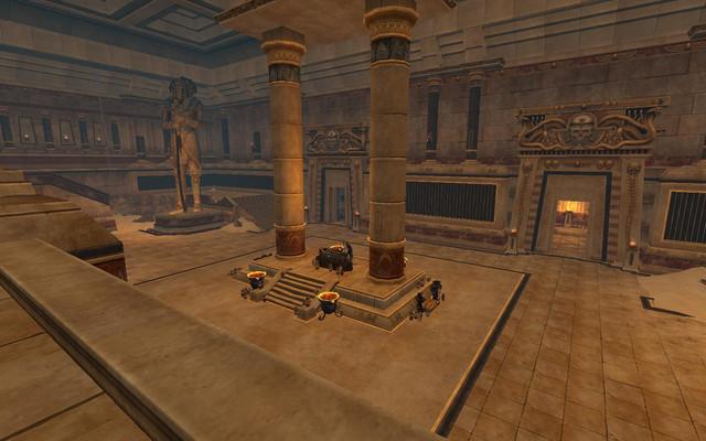 Terre des Morts : l'intérieur de la Tombe du Seigneur Vautour