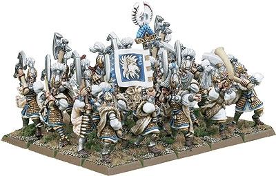 Une armée de Lions Blancs