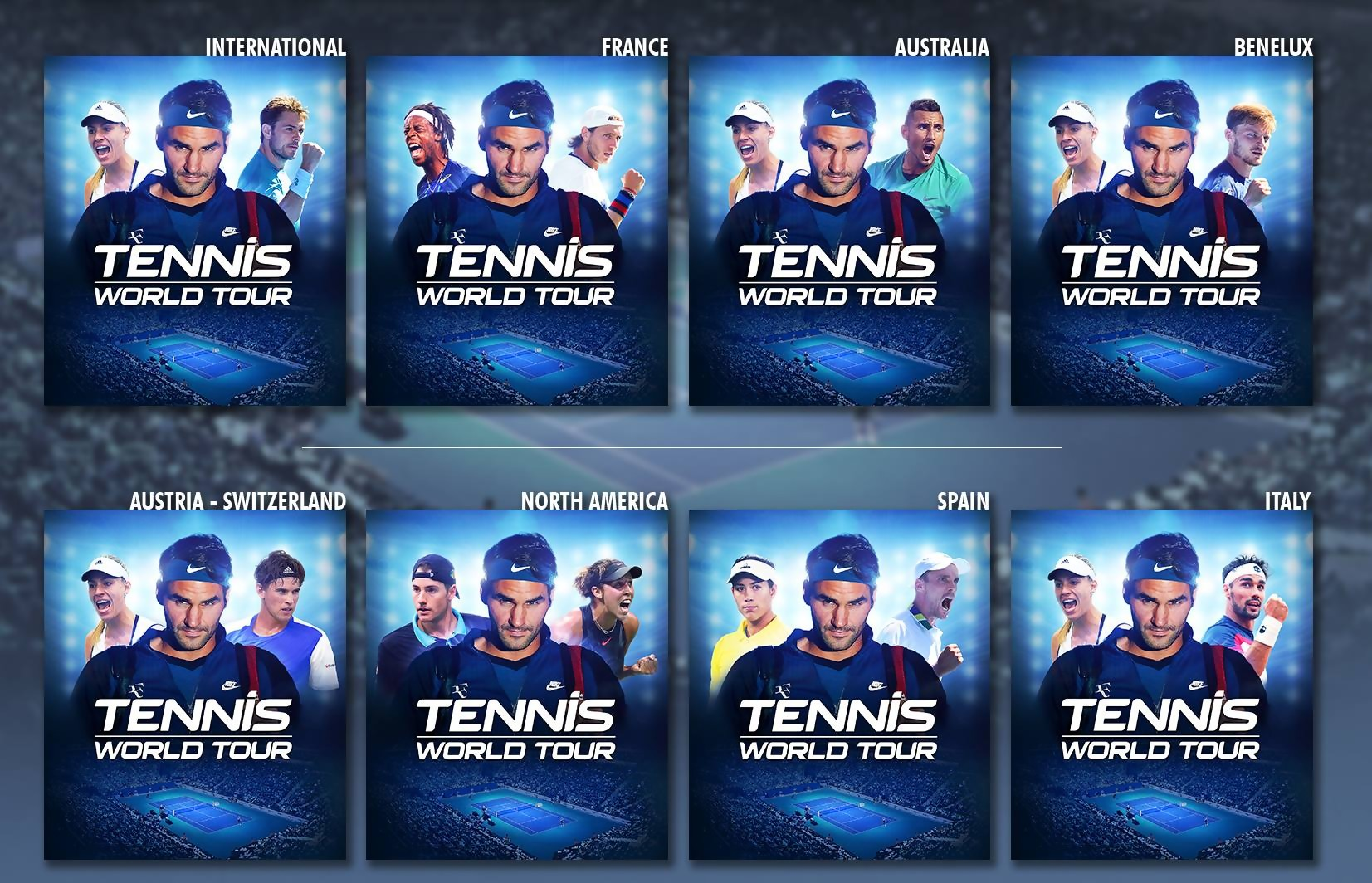 Tennis World Tour sortira le 22 mai 2018
