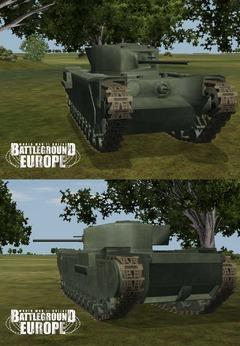le Churchill III et le nouveau fusil Enfield