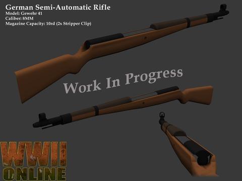 World War II Online - Premières images des nouvelles armes