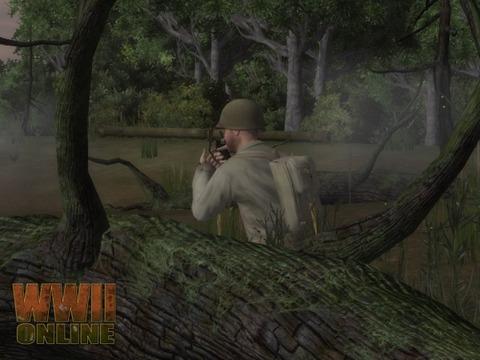 World War II Online - Les Bazookas en jeu