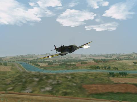 Captures exclusives du Spitfire IX