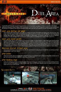Le PvP dans HellGate