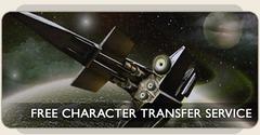 Transfert de personnage gratuit
