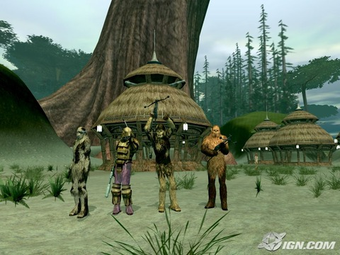 Prochaine extension pour SWG: Rage of the Wookiees