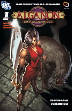 Couverture du Comic Alganon