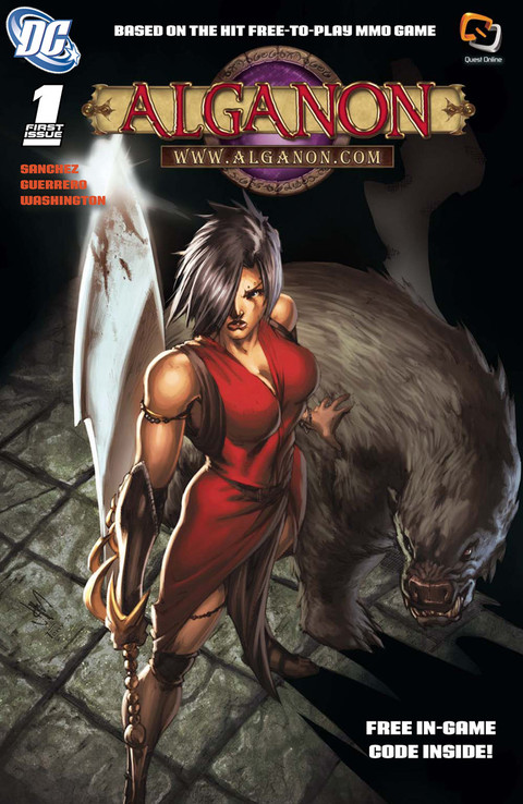 Alganon - Le comic Alganon distribué gratuitement sur le site officiel