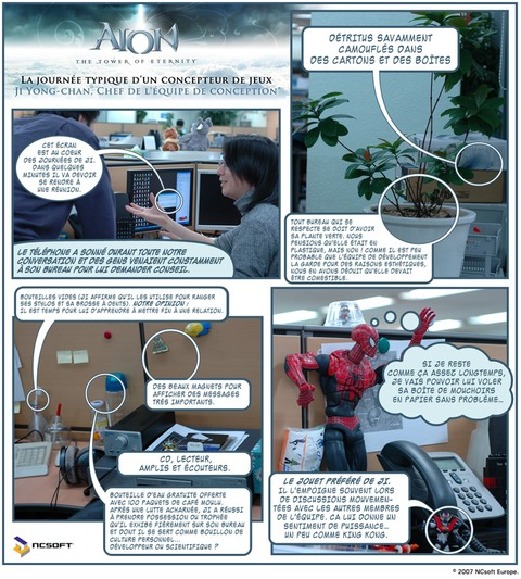 Premier comic strip des développeurs !