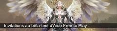 Les 500 dernières clés pour participer au bêta-test privé d'Aion Free to Play