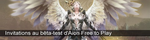 750 invitations à rejoindre le bêta-test privé d'Aion Free to Play - MàJ