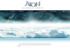 Ouverture du site officiel Européen Aion !