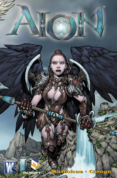 Couverture du comics Aion