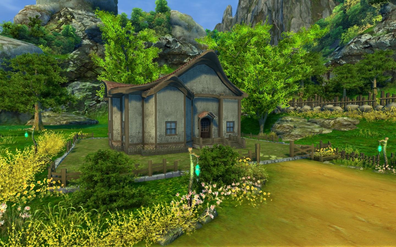 Mikaion aion les maison et types de maison for Decoration externe maison