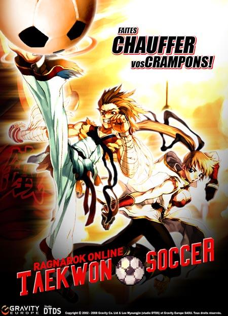Ragnarok Online - Participez au tournoi de football Taekwon Soccer