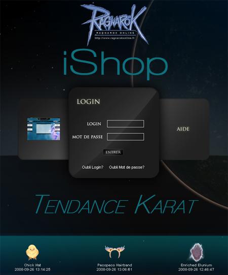 Ragnarok Online - L'iShop Ragnarok Online est ouvert!