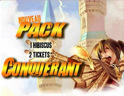 Mise en place du Pack Conquérant jusqu'au 30 juin