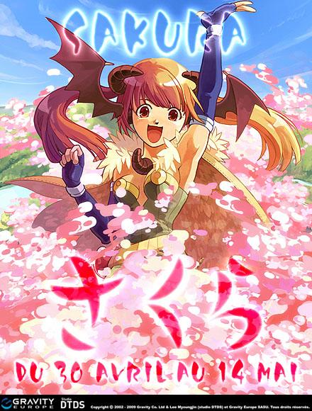 Ragnarok Online - Les cerisiers sont en fleur !
