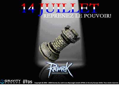 Ragnarok Online - Fêtez le 14 Juillet avec Ragnarök Online