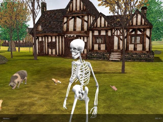 Un joli petit squelette