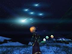 Assister à la nuit des étoiles sur Ryzom