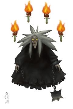 La sorcière Randga