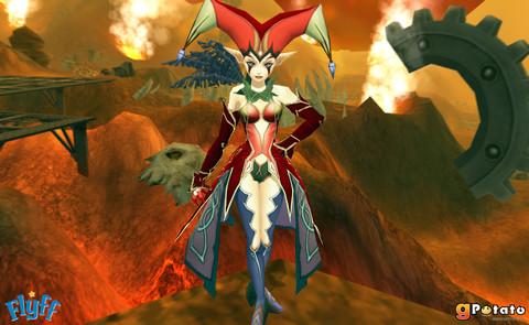 Flyff - Chasse aux oeufs à la déesse