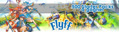 Flyff - 500 Starter Packs Fly for Fun à gagner