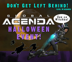 Global Agenda prépare Halloween