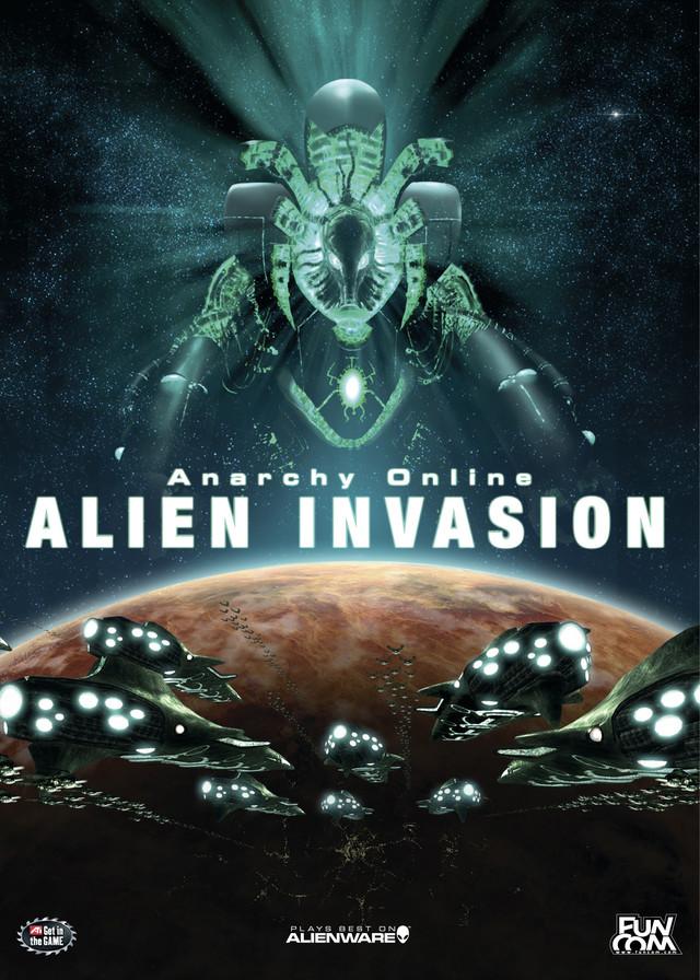 Poster d'Anarchy Online: Alien Invasion