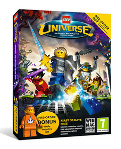 Boîte de LEGO Universe